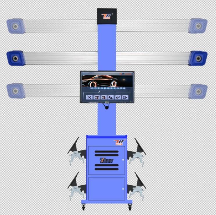T288 Portable Digital Wheel Alignment Machine Tool With 3D Animation Demonstration